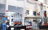 沐鸣2软件_益阳橡机首台套GE420/GE800T大规格串联式密炼机下线
