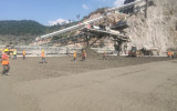 老挝南屯1水电站沐鸣2:日浇筑量创新高