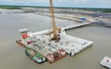 孟加拉巴瑞萨燃煤电沐鸣2代理注册站重件码头正式投用